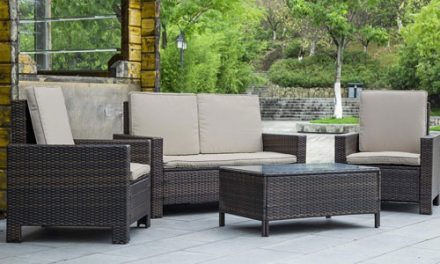 Use Wicker Furniture for Your Outdoor Office Space